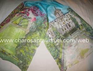 Arteterapia sobre pintura en seda y gestión emocional