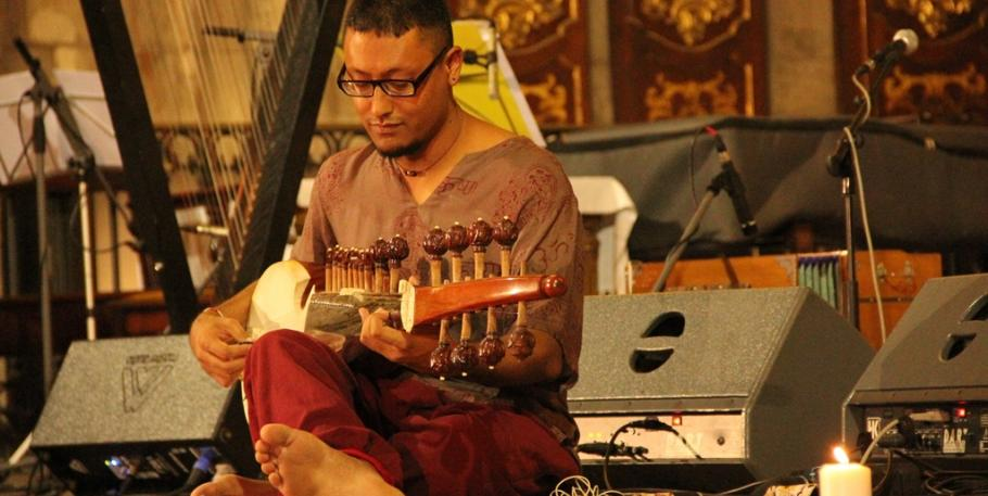 Concierto meditativo: Manish Shrestha Vivartana