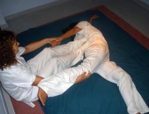 Masaje japonés (shiatsu)