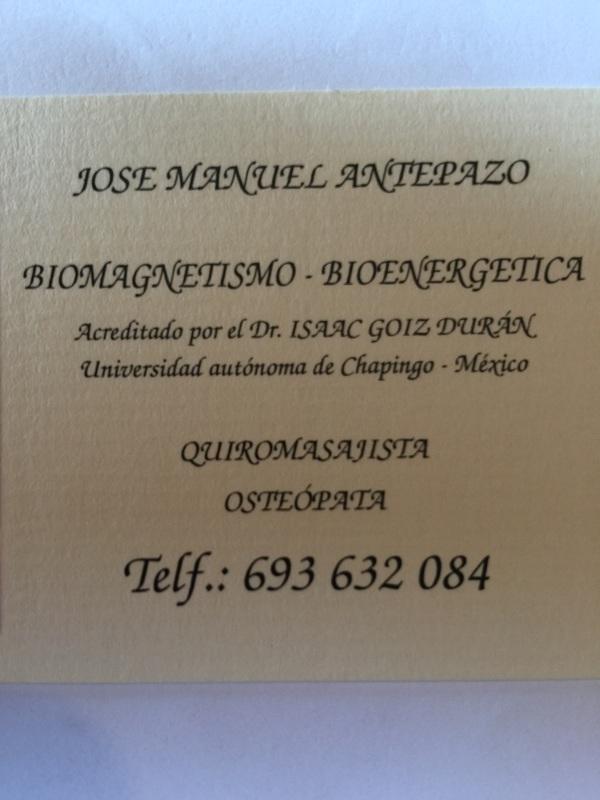 José Manuel Antepazo Paredes